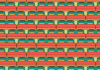 Free Mattress Vector Pattern Illustration - Free vector #388251
