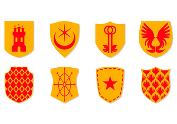 Free Coat of Arms Icon Vector - Free vector #388491