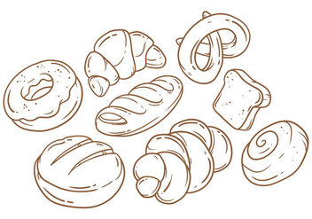 Free Bread Vector - Free vector #388781