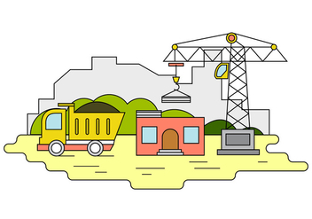 Free Construction Illustration - Free vector #389261