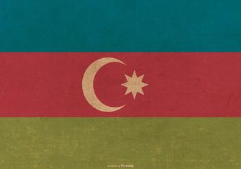 Grunge Flag of Azerbaijan - Kostenloses vector #390541