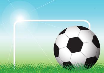 Soccer Ball Vector - Free vector #391081
