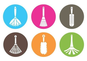 Feather Dust Vector - Kostenloses vector #391381