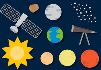 Free Planets Vector - Kostenloses vector #391471