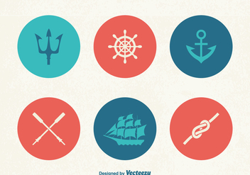 Free Marine Vector Icons - Free vector #391801