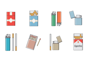 Free Cigarette Vector - бесплатный vector #392281