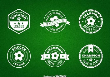 Free Futsal Vector Badges - Free vector #392461