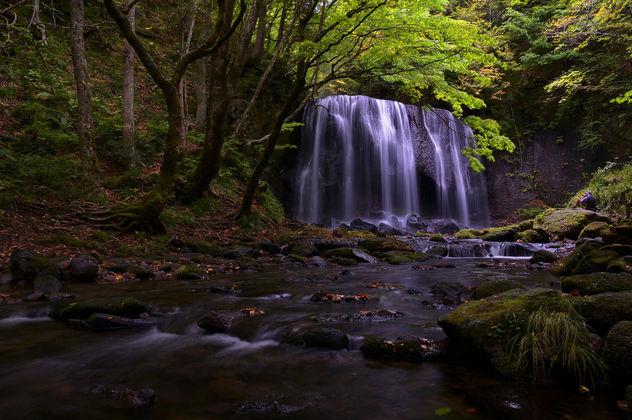 Waterfall in the rain - Free image #392501