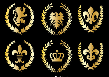 Royal Kingdom Symbol Vector - vector #393321 gratis