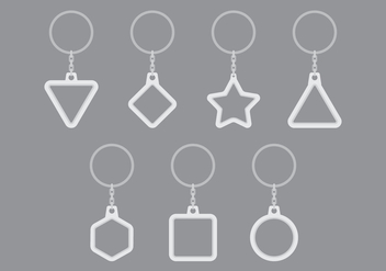 Key Chains - vector #393811 gratis