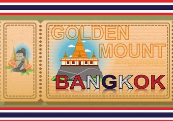 Free Bangkok Illustation - Kostenloses vector #394091