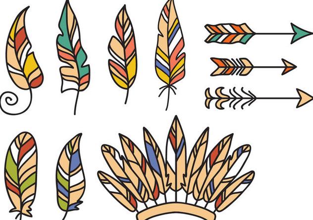 Free Native American Vectors - Free vector #394361