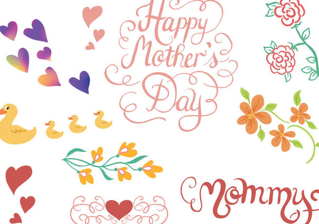 Free Mommy Vectors - Free vector #394461