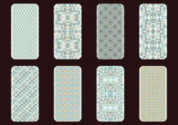 Phone Case Vintage Vectors - vector gratuit #394561