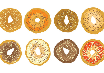 Free Bagel Icons Vector - бесплатный vector #394581