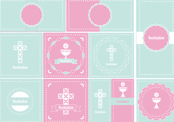 Baptism Invitation - Free vector #394691