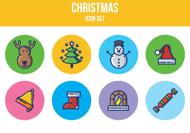 Free Christmas Icon Set - Free vector #394961