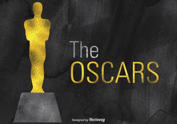 Free Vector Oscar Statue Design - vector gratuit #395171