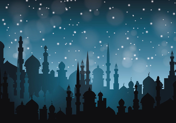 Free Arabian Nights Vector Illustration - Free vector #395481