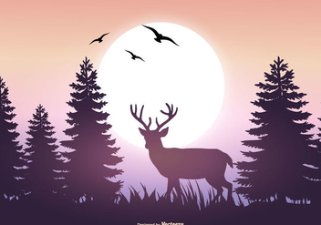 Beautiful Vector Landscape Illustration - Free vector #395731
