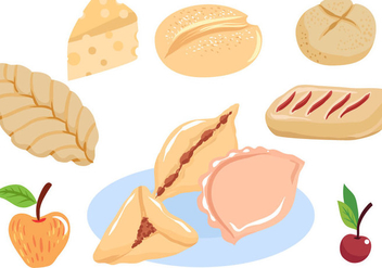 Free Pastry Vectors - Free vector #395921