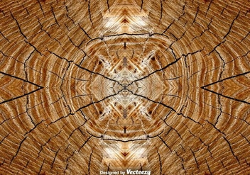 Realistic Tree Rings Background - vector gratuit #396461