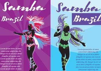 Samba Flyers - vector gratuit #396811