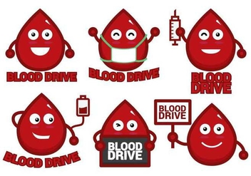 Blood Drive Vector - vector gratuit #396921