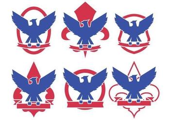 Eagle Scout Logo Vectors - Free vector #397261