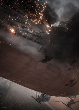 Battlefield 1 / On the Blimp - Free image #397561