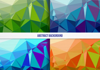 Free Vector Colorful Geometric Background Collection - Free vector #397991