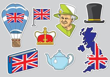 Free Queen Elizabeth Icons Vector - Free vector #398011