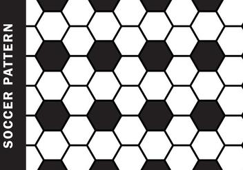 Soccer Pattern Vector - Free vector #398291