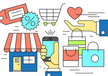 Free Shopping Icons - Free vector #398521