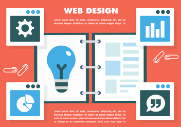 Free Web Design Vector - Free vector #398711