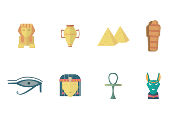 Free Ancient Egypt Vector - vector #399671 gratis