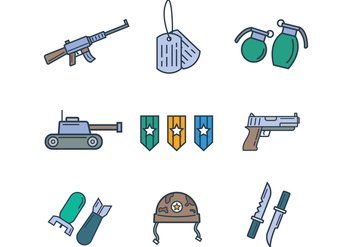 Free Army Vector - Free vector #400001