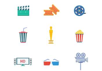 Free Movie Vector - Kostenloses vector #400191