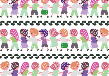 Conga Kids - Free vector #400991