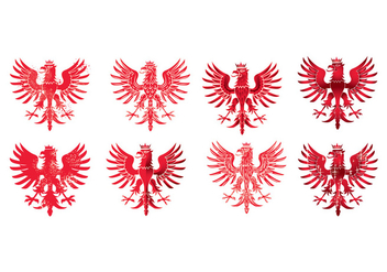 National Arms of America Poland Eagle - бесплатный vector #401111