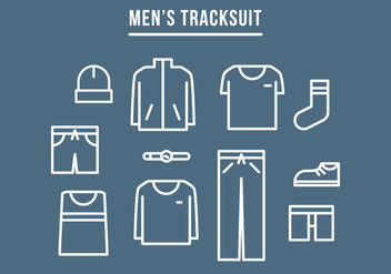 Men's Tracksuit - Free vector #401201