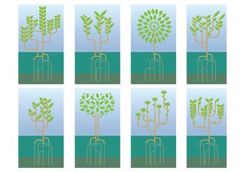 Free Mangrove Tree Vector - Free vector #403151