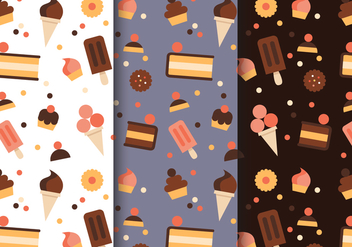 Free Pastry Pattern Vector - vector gratuit #404151