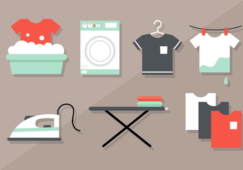 Free Laundry Vector - Free vector #404271