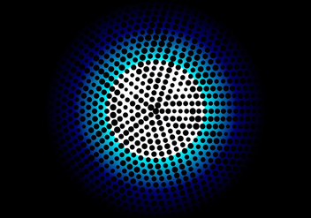 Free Vector Halftone Background - Free vector #405151