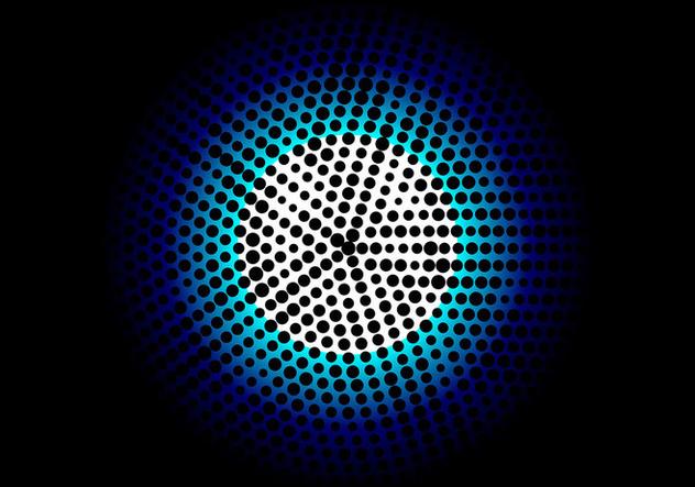 Free Vector Halftone Background - бесплатный vector #405151