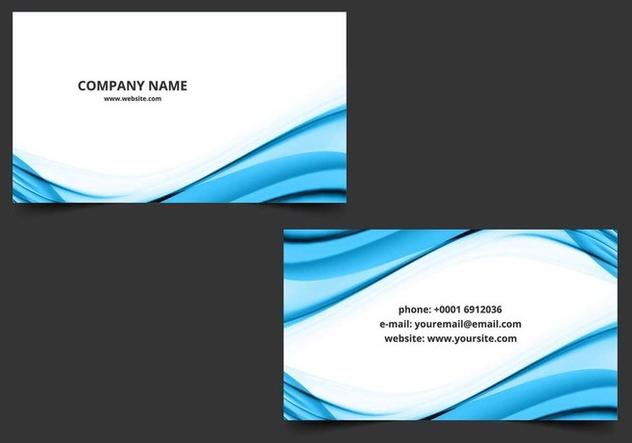 Free Vector Business Card - бесплатный vector #405201