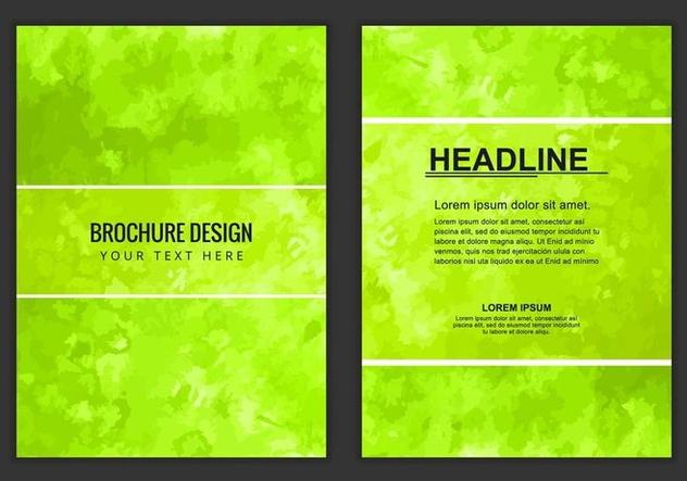 Free Vector Business Brochure - бесплатный vector #405221