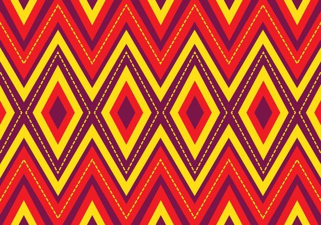 Bright Songket Pattern - бесплатный vector #405231