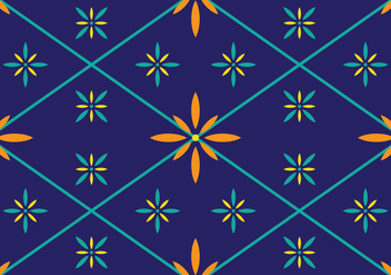 Traditional Songket - vector gratuit #405241